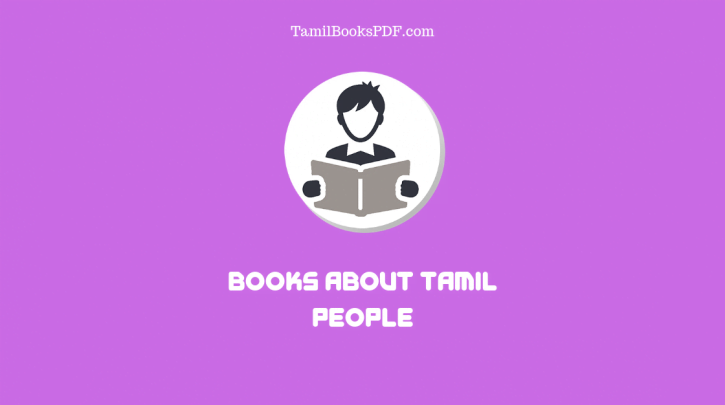 8 Books About Tamil People - Tamil Books PDF