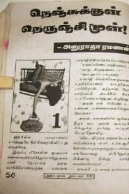 Nenjukkull Nerunji Mull By Anuradha Ramanan